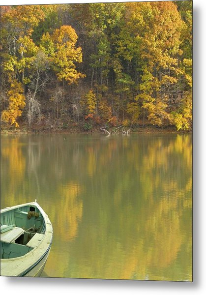 Quiet Pond Metal Print