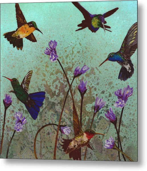 Quintet Metal Print by Fred Chuang