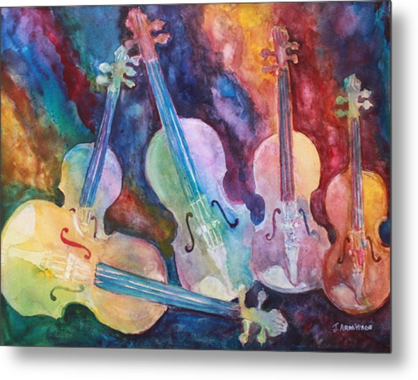 Quintet In Color Metal Print