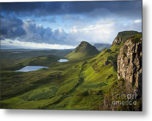 Quiraing Dawn Metal Print