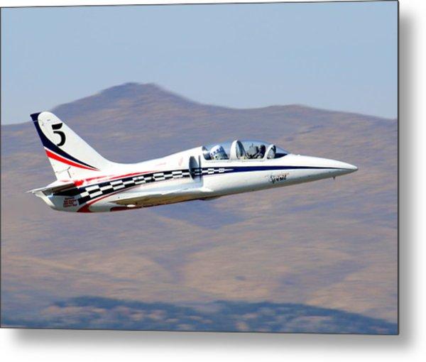 R2d2 Flies At The Reno Air Races Metal Print