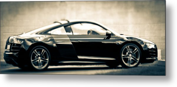R8 Dreams In Black And White Metal Print