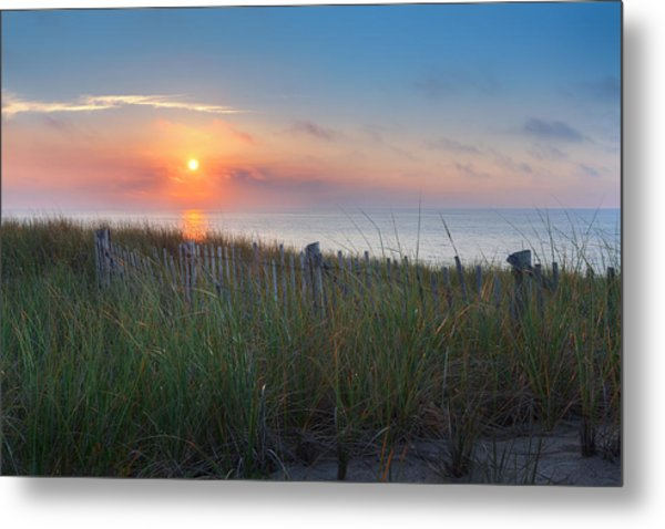 Race Point Sunset Metal Print