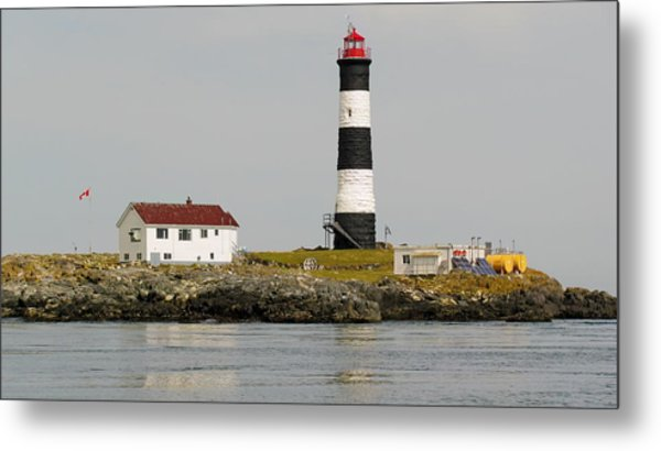 Race Rocks Lighthouse Ecological Preserve Metal Print