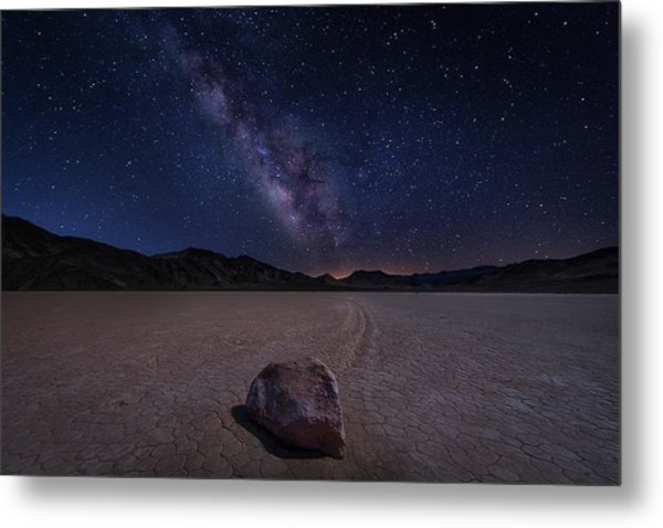 Racetrack To Milky Way Metal Print