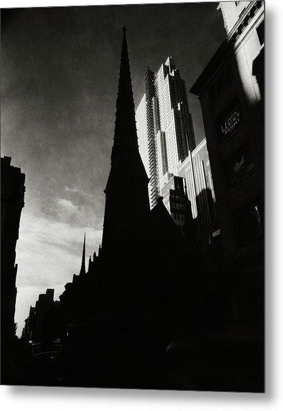 Radio City Music Hall In New York City Metal Print