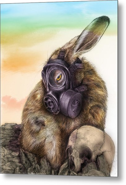 Radioactive - Color Metal Print