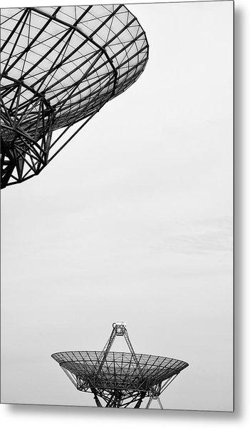 Radiotelescope Antennas.  Metal Print