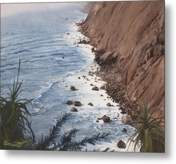 Ragged Point California Metal Print
