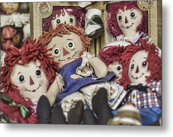 Raggedy Ann And Andy Metal Print