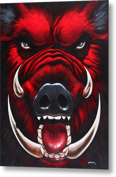 Raging Hog Metal Print