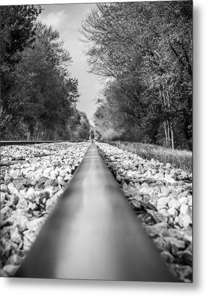 Rail Way Metal Print