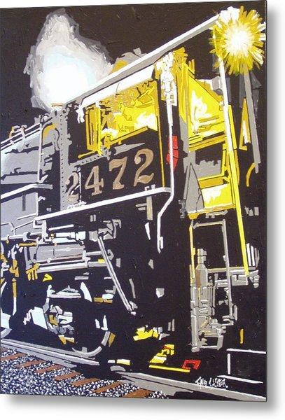 Railroad Museum Metal Print by Paul Guyer