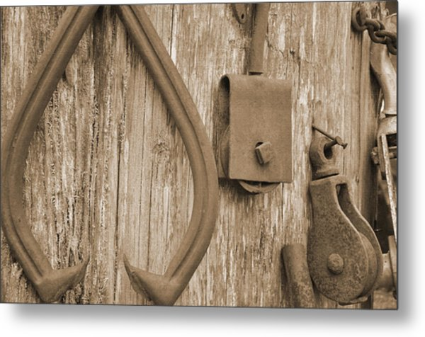 Railroad Tools  Metal Print