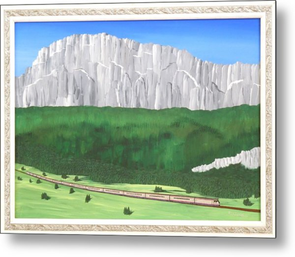 Railway Adventure Metal Print