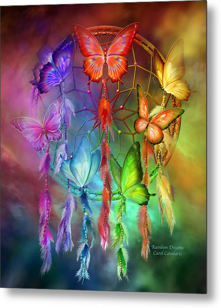 Rainbow Dreams Metal Print
