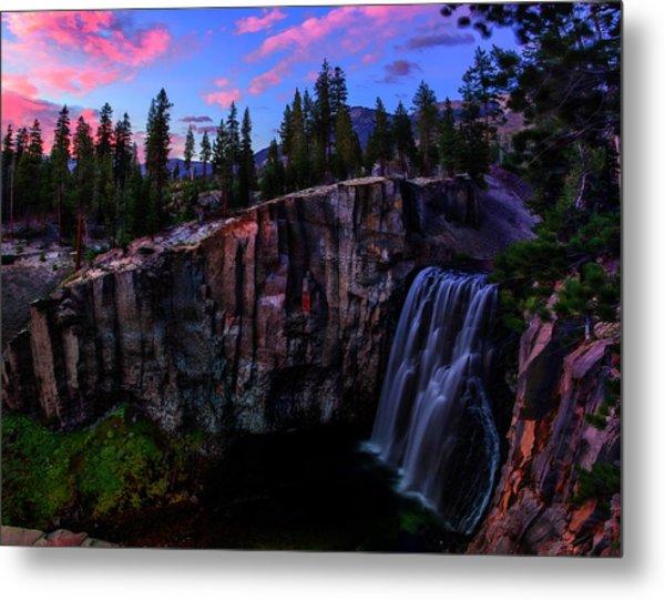 Rainbow Falls Devil's Postpile National Monument Metal Print