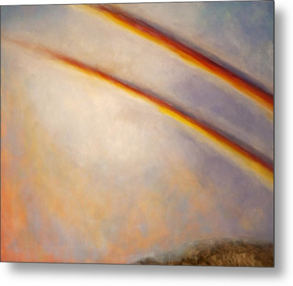 Rainbow For Grace Metal Print