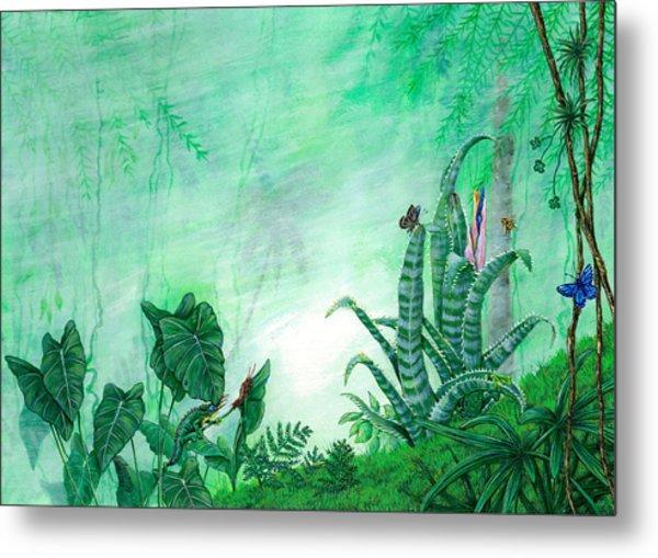 Rainforest Creatures. Metal Print