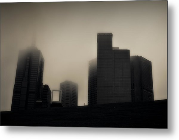 Rainy Mood Metal Print
