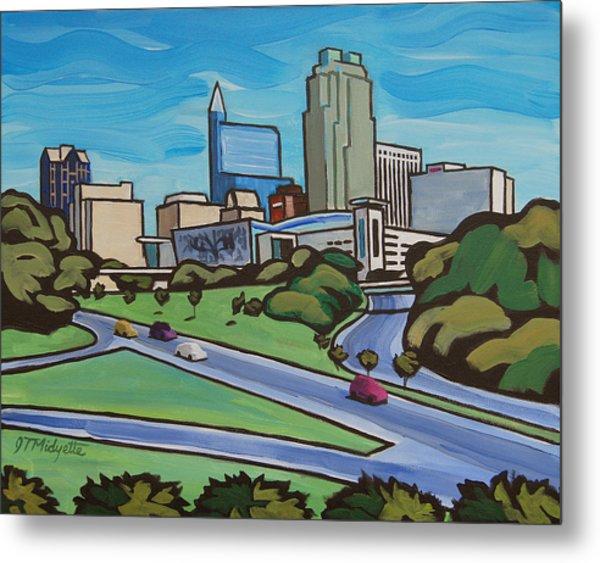 Raleigh Skyline 2 Metal Print