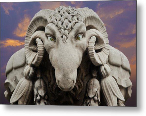 Ram-a-sees Metal Print
