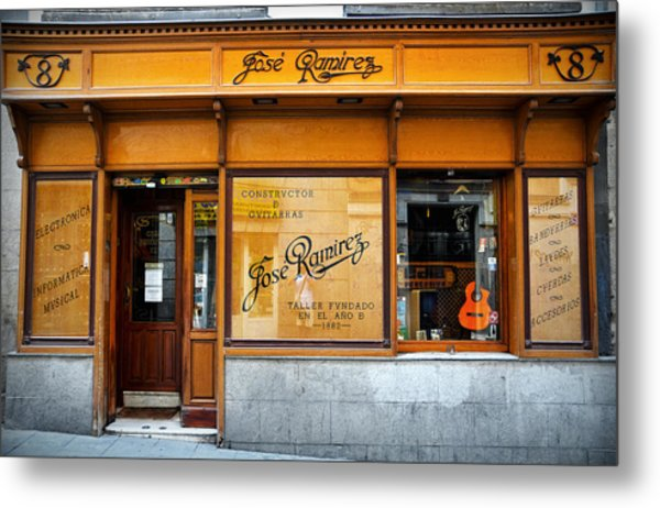 Ramirez Guitars Workshop Metal Print