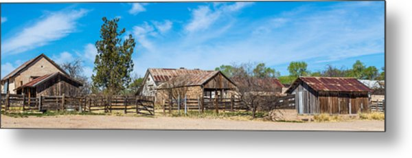 Ranch Panorama Metal Print