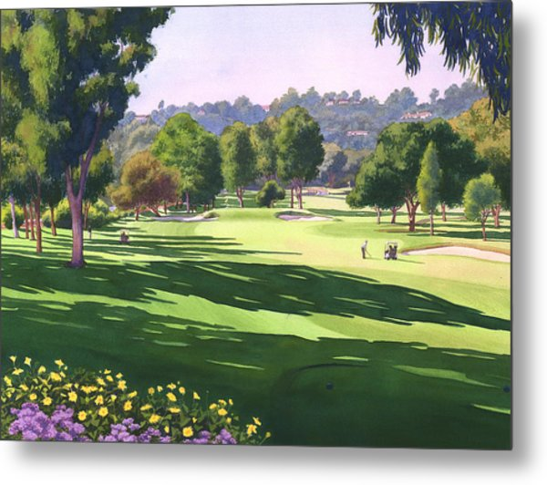 Rancho Santa Fe Golf Course Metal Print