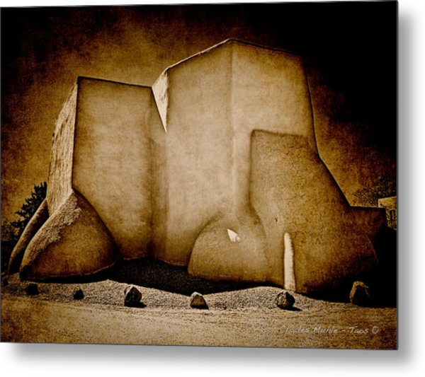 Ranchos Church Xx Metal Print