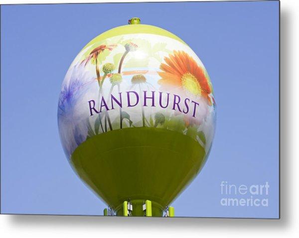 Randhurst Water Tower Metal Print