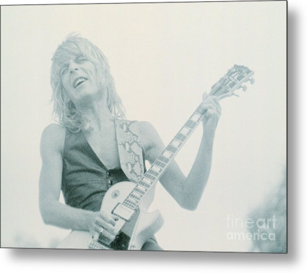 Randy Rhoads Day On The Green 7-4-81 Metal Print