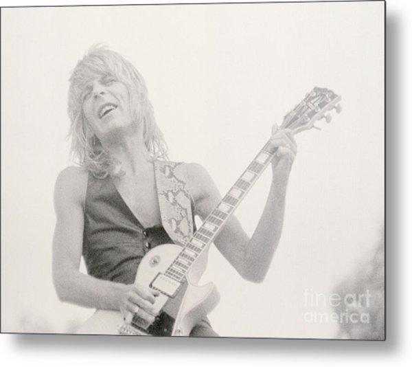 Randy Rhoads Day On The Green 7-4-81 Metal Print