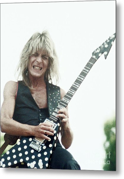 Randy Rhoads New Release At The Green In Oakland-july 4th 1981 Metal Print