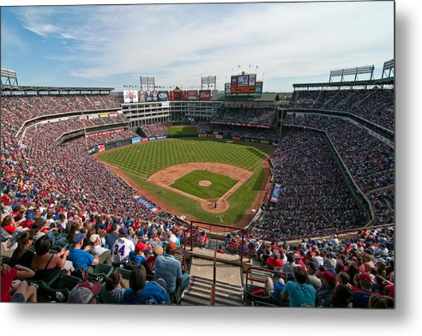 Rangers Ballpark In Arlington Metal Print