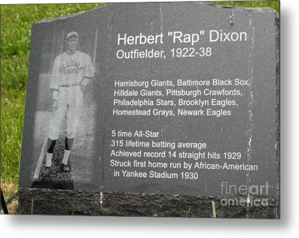 Rap Dixon Metal Print