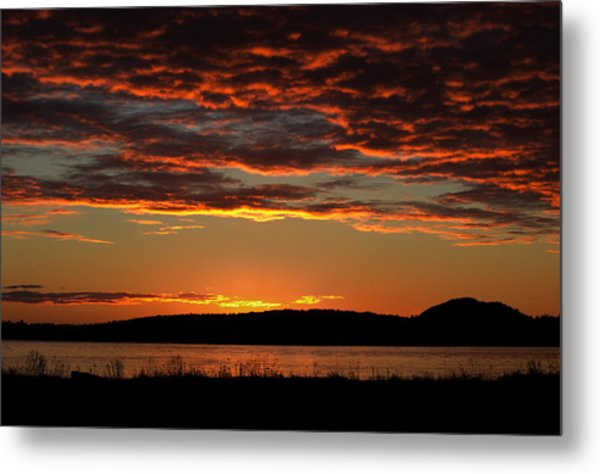 Rathtrevor Sunrise Metal Print