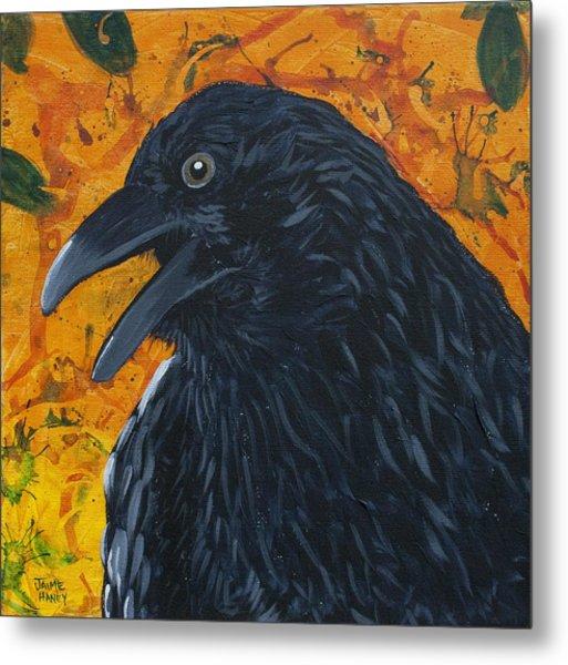 Raven Festival Metal Print