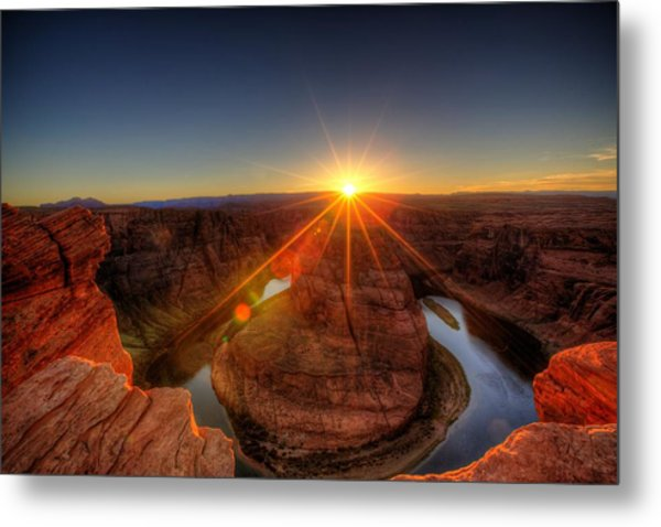 Rays Of Sunshine Metal Print