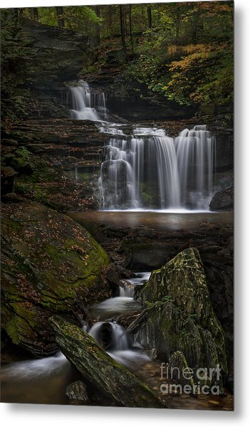 Rb Ricketts Falls Metal Print