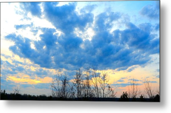 Reach Out And Touch The Sky Metal Print