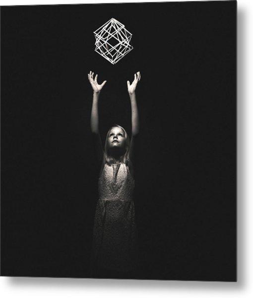 Reaching For A Dream Metal Print