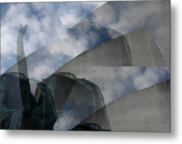 Reaching Heaven Metal Print