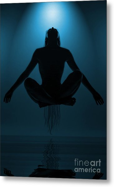 Reaching Nirvana.. Metal Print