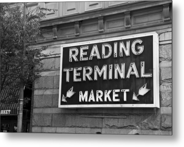 Reading Terminal Market Metal Print