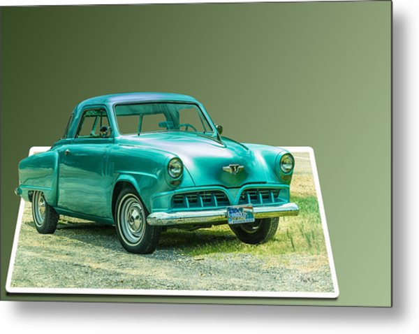 Classic - Car - Studebaker - Ready For A Spin? Metal Print by Barry Jones