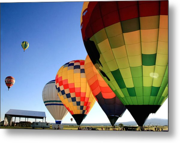 Ready For Take-off Metal Print by Becky Maness
