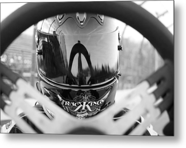 Ready To Race Metal Print by Thomas Fouch