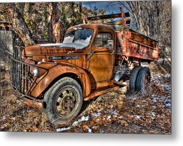 Ready To Roll Metal Print