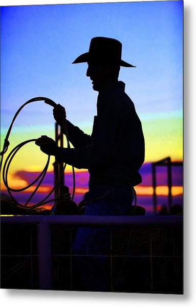 Ready To Rope I Metal Print